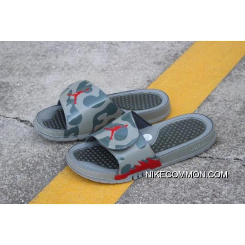 3346e86cba1e Women Men New Air Jordan Hydro 5 Retro Slide Dark Stucco Red 555501- ...