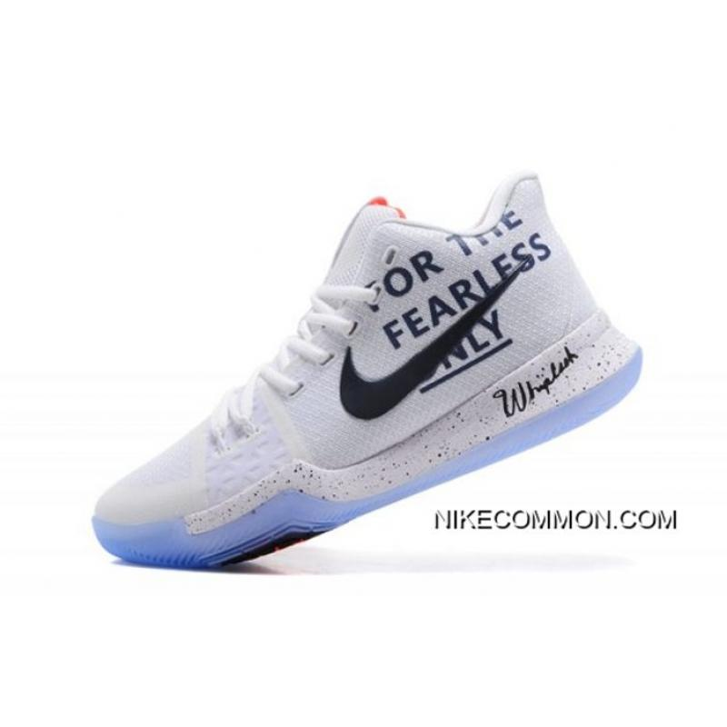 """premium selection b8864 e261f Men s Nike Kyrie 3 """"For The Fearless Only"""" Basketball Shoes Free Shipping  ..."""