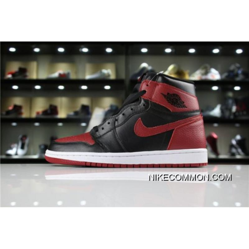 "quality design 5d805 128fb Discount Men s Air Jordan 1 High OG ""Banned"" Black Varsity Red-White ..."