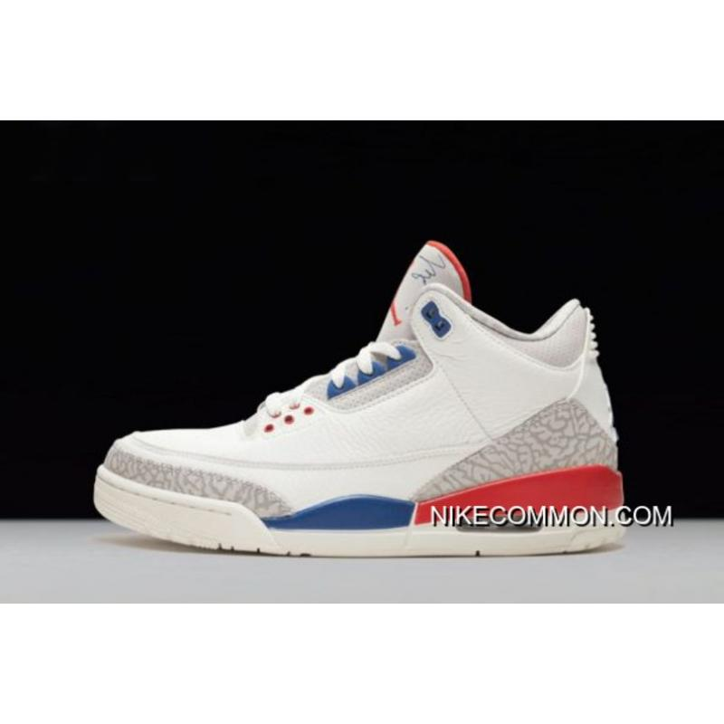 "11b803b0a63d3f Air Jordan 3 ""International Flight"" Sail Sport Royal-Light Bone-Fire ..."