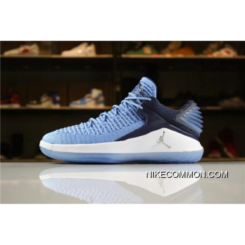 "new concept 8f715 bb1b2 Best Men s Size Air Jordan 32 XXXII Low ""Win Like  82"" University Blue ..."
