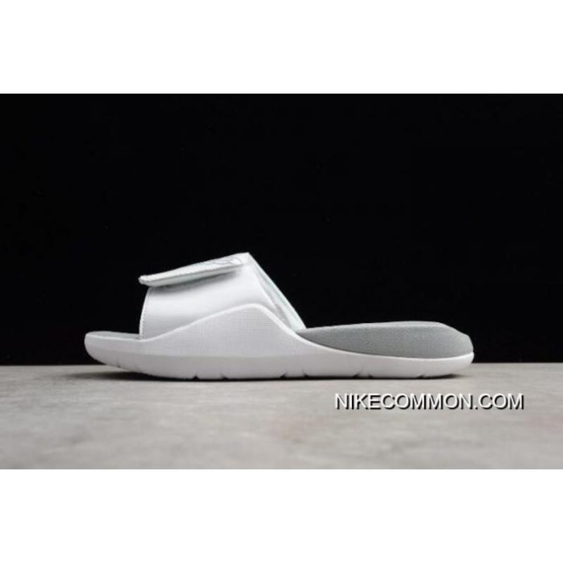 7b74c9b03 Big Deals Men s Air Jordan Hydro 7 Slide White Pure Platinum AA2517-100 ...