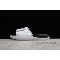 5a053c32f24174 Men s Jordan Hydro 7 White Black-Sprayed Point AA2517-004 Where To Buy