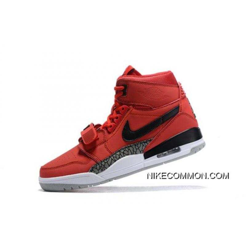 "new style 5a648 1c428 Don C X Jordan Legacy 312 ""Toro"" Varsity Red Black-White AV3922- ..."