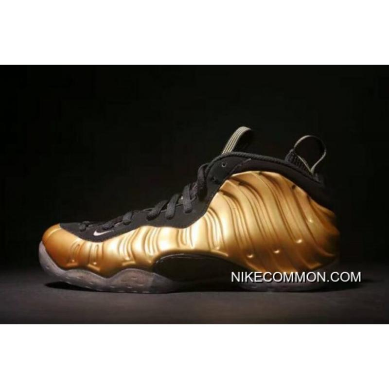 "buy online 2031a 12385 Big Deals Nike Air Foamposite One ""Metallic Gold"" Metallic Gold/Black 314996-  ..."