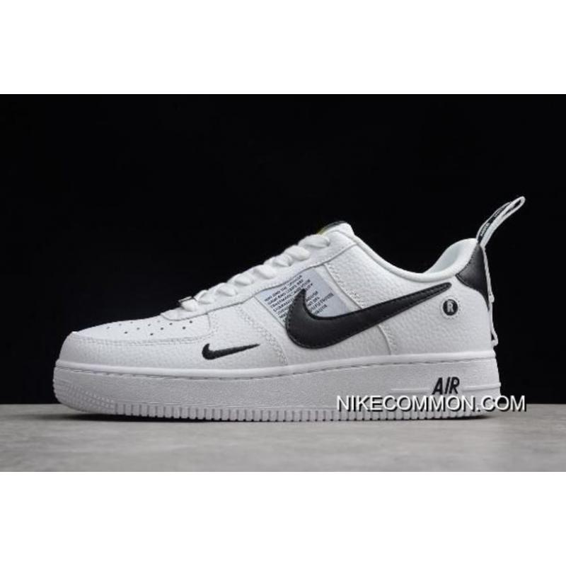quality design 2d358 a6b6c WomenMen New Year Deals Nike Air Force 1 07 Low WhiteBlack ...