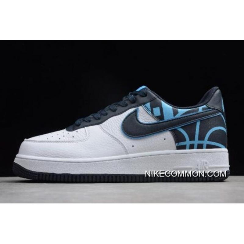 new products cb6e9 9d269 Top Deals Nike Air Force 1  07 LV8 White Dark Obsidian 823511-105 ...