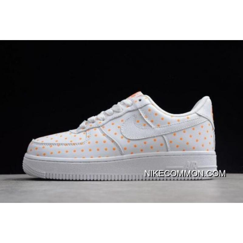 new styles 67e12 b2e84 Buy Now Womens Nike Force 1 Low AF-1 WhiteOrange AT0062-181 ...
