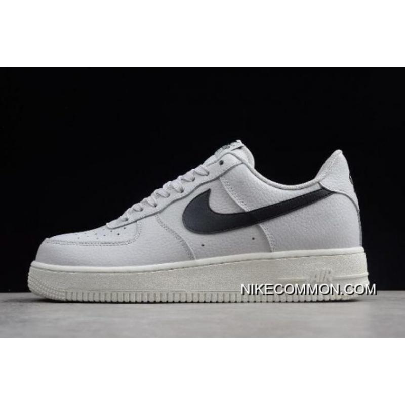 buy online d9646 3cf46 Women Men Nike Air Force 1  07 AF1 Vast Grey Black-Summit ...