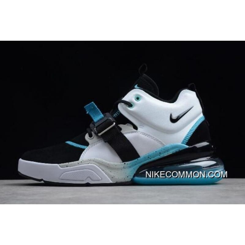 d45d0ddd83043 Online Nike Air Force 270 Black/White-Hyper Jade Shoes, Price ...