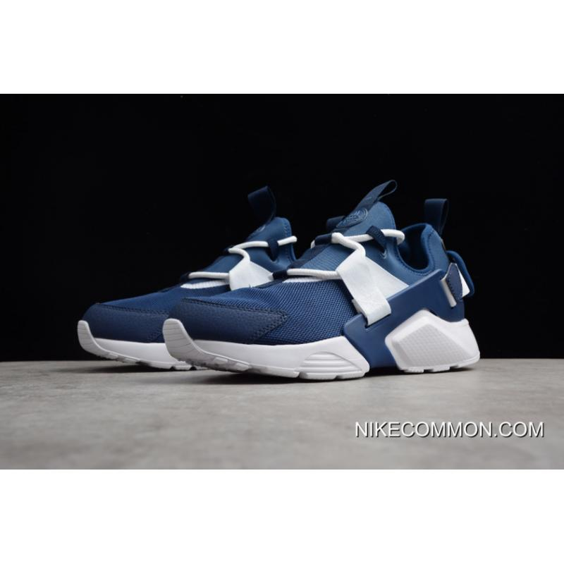 762ce9e8d3788 ... New Release Men s And Women s Nike Air Huarache City Low Navy White  Running Shoes AH6804 ...