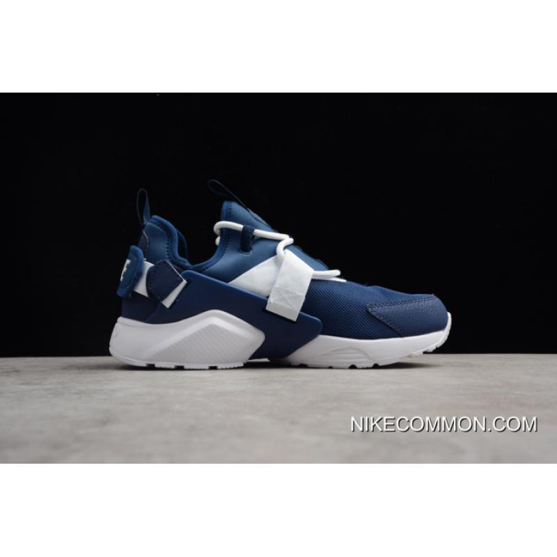 ab4067d53c521 ... New Release Men's And Women's Nike Air Huarache City Low Navy/White  Running Shoes AH6804 ...