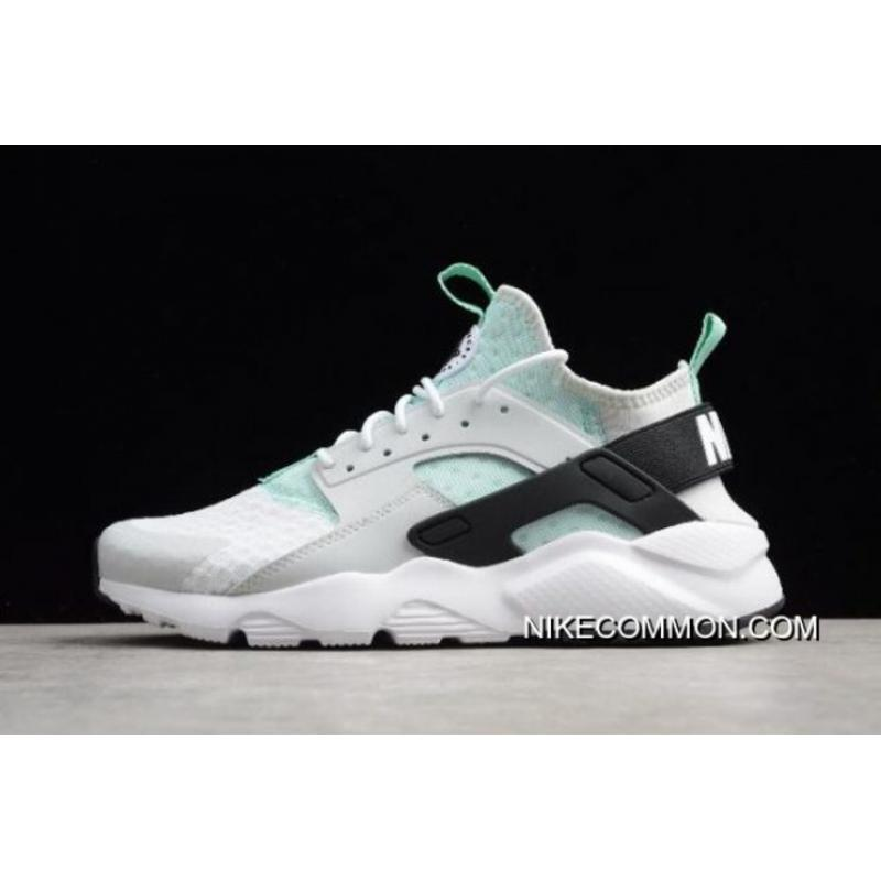 official photos 1d3c9 f36b8 Women Men Nike Air Huarache Run Ultra Pure Platinum Black-Igloo 819685- ...