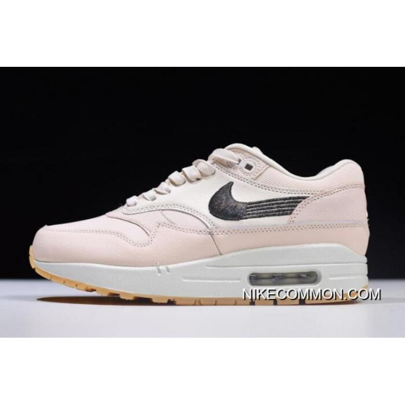 7747ac09a0 ... Women's Nike Air Max 1 Premium Guava Ice/Gum Yellow/Off-White 454746 ...