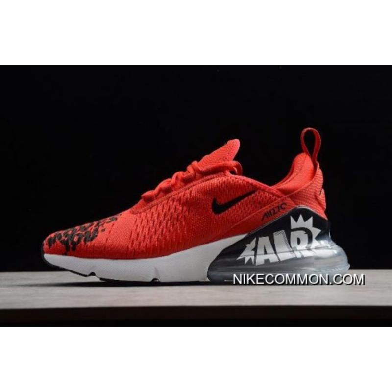 pretty nice 9ace9 10ad0 For Sale NIKEiD Air Max 270 ID Red/Black-White Men's Shoes BQ0742-995