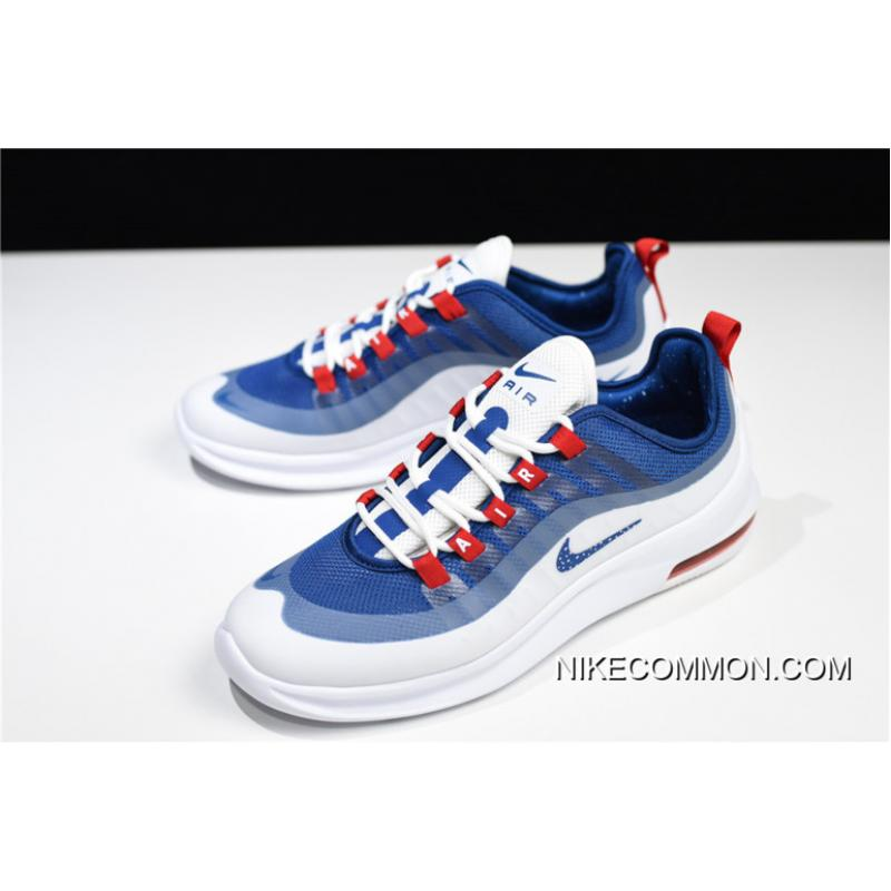 """Nike Air Max Axis """"USA"""" WhiteGym Blue Shoes On Sale"""
