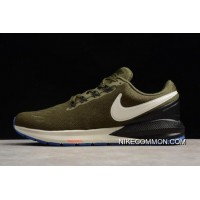 Tax Free Nike Air Zoom Structure 22 Olive Black-White AA1636-300 13422eb53