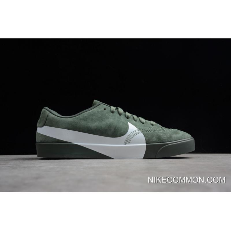 "... Women Men Tax Free Nike Blazer City Low XS ""Clay Green"" AV2253- ... 112c5e842"