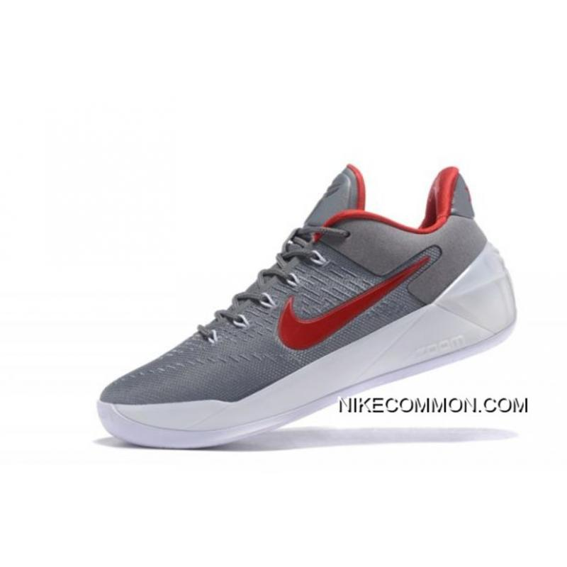 official photos 05b15 6ceb0 Nike Kobe A.D. Cool Grey/Red-White Men's Size Sale Outlet