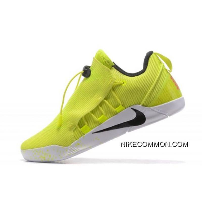 newest 0a4a2 10b12 Authentic Nike Kobe AD NXT Volt/White-Black 916832-710 Free Shipping