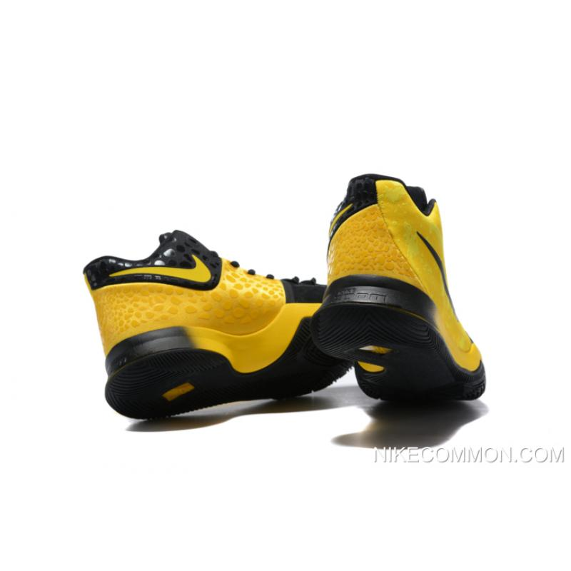 "cheap for discount 42d60 2f735 Bruce Lee Nike Kyrie 3 ""Mamba Mentality"" Tour Yellow/Black Basketball Shoes  AJ1692-700 Tax Free"