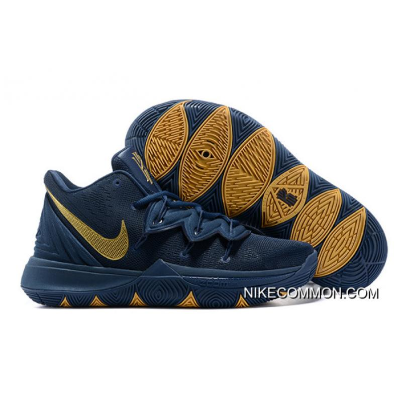 "outlet store 23ad5 83c01 Best Nike Kyrie 5 ""Philippines"" Navy Blue/Gold"