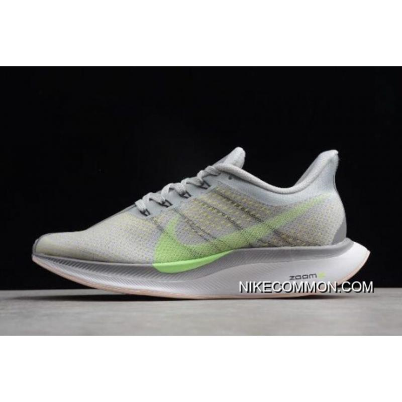 b6c14b825 Women/Men Nike Air Zoom Pegasus 35 Turbo 2.0 Light Grey/Green AJ4115- ...