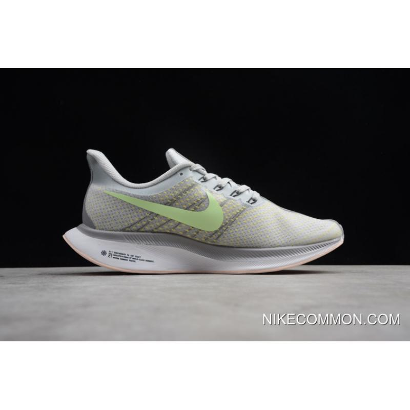 a43c69514da5 ... Women Men Nike Air Zoom Pegasus 35 Turbo 2.0 Light Grey Green AJ4115-