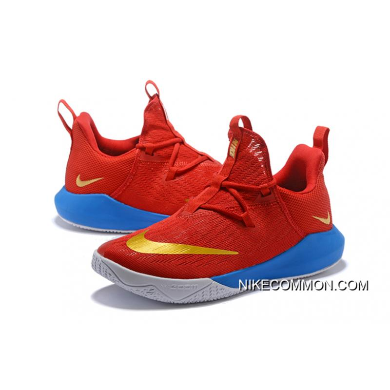 21a834fe03f0 ... New Release Nike Zoom Shift EP University Red Metallic Gold-Blue ...