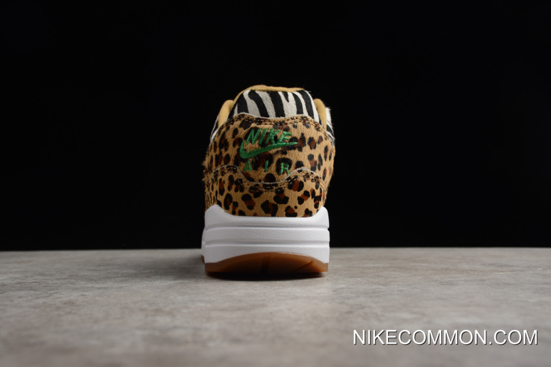 """uk availability 6d2c5 4b993 Atmos X Nike Air Max 1 DLX """"Animal Pack 2.0"""" Wheat/Bison-Classic  Green-Sport Red AQ0928-700 Tax Free"""