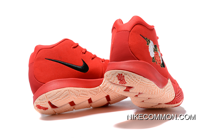 """info for dae94 44c3d Men's Nike Kyrie 4 """"CNY"""" University Red/Black-Team Red Basketball Shoes  943807-600 New Style"""