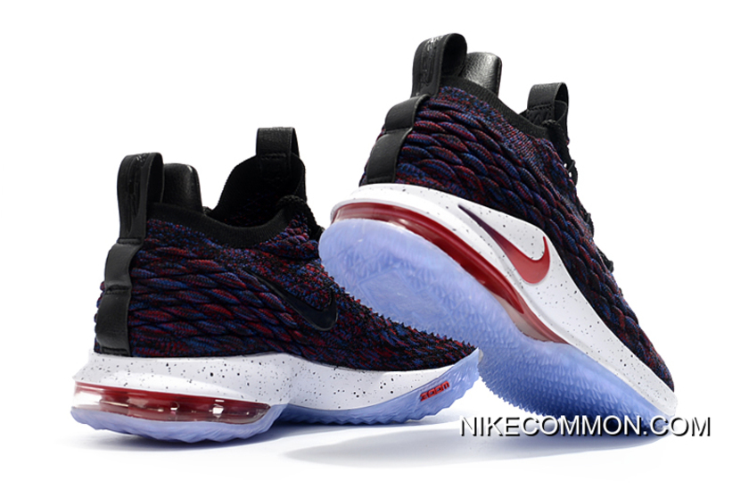 """online store 4861a b966d All-Star Nike LeBron 15 Low """"Supernova"""" Multicolor/University  Red-Black-White AO1755-900 For Sale"""